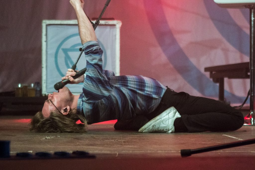 Jera On Air: Iedereen zit onder het zweet, al dan niet van zichzelf