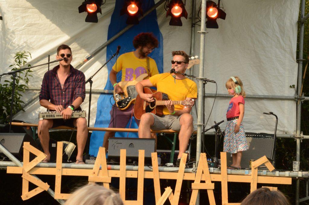 Goudriaan geniet op Blauwalg festival